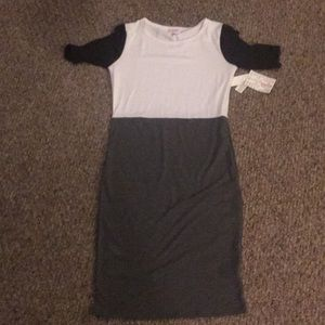 Brand new Julia block color dress